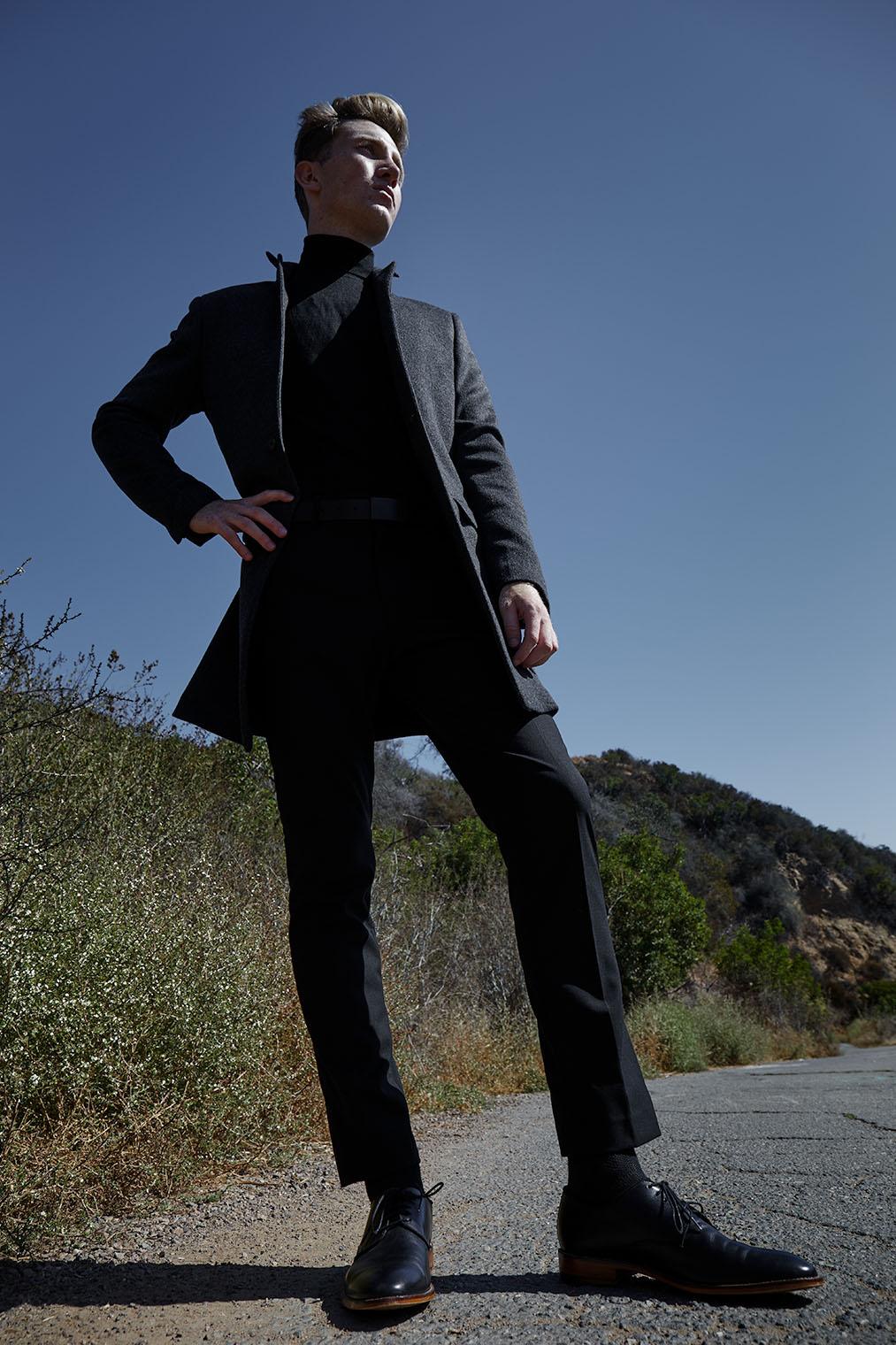 mens fashion - male fashion photography Los Angeles