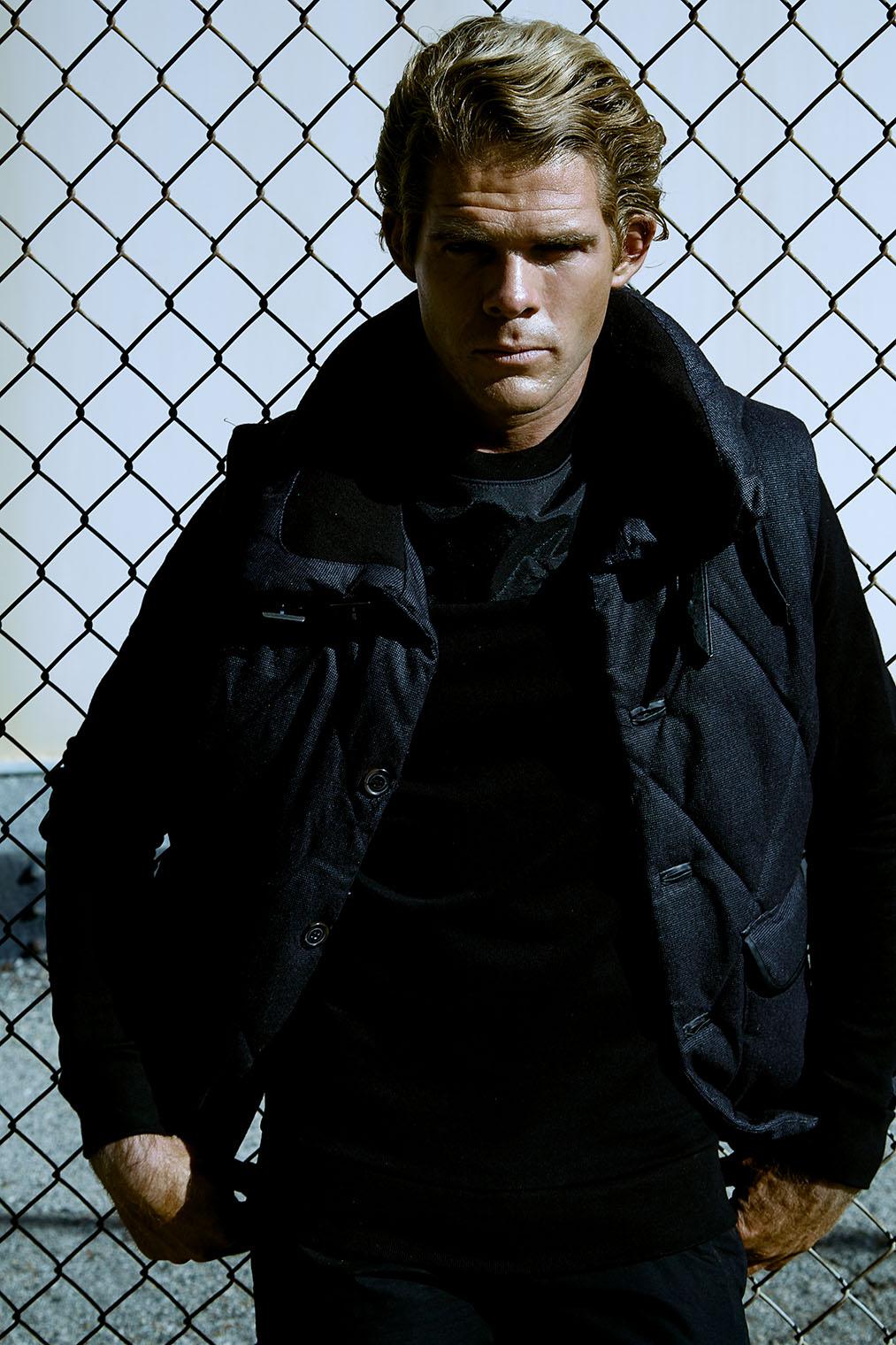 Dexter portrait fashion shoot